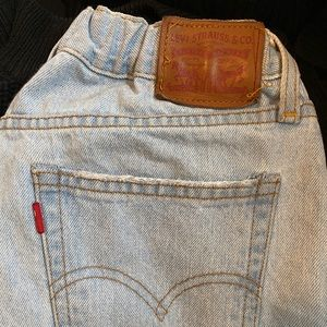 Size 30 Levi's reworked
